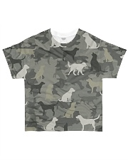 Labrador Camouflage All-over T-Shirt front