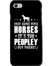 Stay Home With Horses Phone Case thumbnail