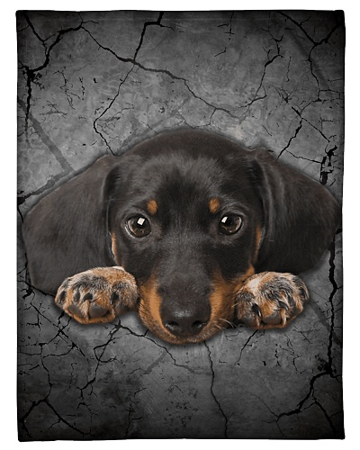 Dachshund Funny Blanket Lying Graphic Design