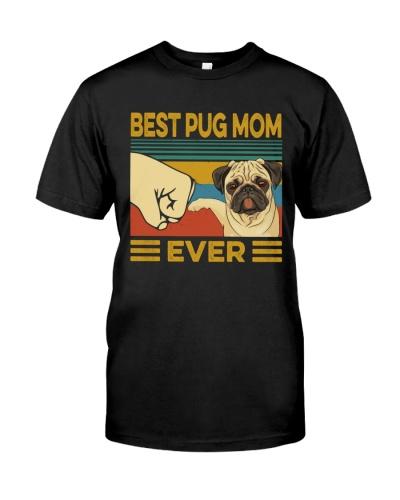 Best Pug Mom Vintage