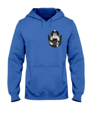 Japanese Chin Inside Pocket Hooded Sweatshirt front