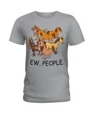 Horse Ew People Ladies T-Shirt thumbnail