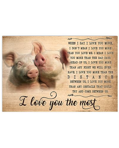 Pig I Love You The Most