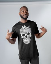 French Bulldogs Skull Classic T-Shirt apparel-classic-tshirt-lifestyle-front-32