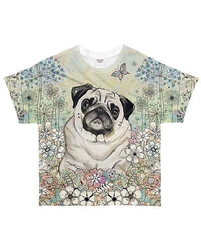 Pug 3D Dog