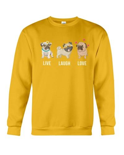 Pug- Live-Laugh-Love