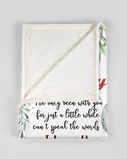 """To My Mummy I've Only Been With You Blanket Small Fleece Blanket - 30"""" x 40"""" aos-coral-fleece-blanket-30x40-lifestyle-front-17"""