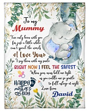 """To My Mummy I've Only Been With You Blanket Small Fleece Blanket - 30"""" x 40"""" front"""
