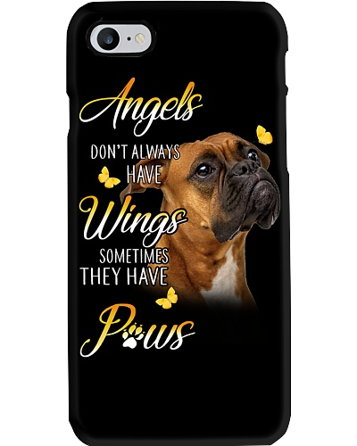 Boxer Angels Phone Case