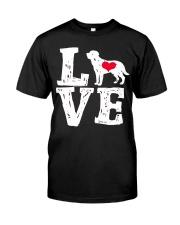 Labrador- Love Classic T-Shirt thumbnail