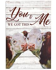 Cow You And Me We Got This Poster 11x17 Poster front