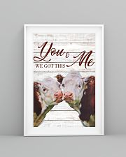 Cow You And Me We Got This Poster 11x17 Poster lifestyle-poster-5