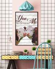 Cow You And Me We Got This Poster 11x17 Poster lifestyle-poster-6