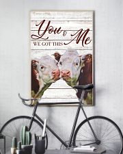 Cow You And Me We Got This Poster 11x17 Poster lifestyle-poster-7