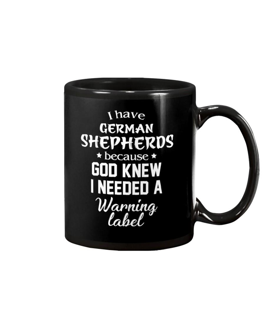 German Shepherd -Warming Label Mug