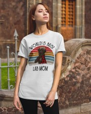 Labrador Chocolate World's Best  Classic T-Shirt apparel-classic-tshirt-lifestyle-06