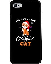 All I want for christmas is a cat Phone Case thumbnail