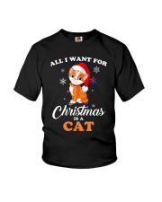 All I want for christmas is a cat Youth T-Shirt thumbnail