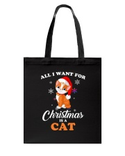 All I want for christmas is a cat Tote Bag thumbnail