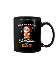 All I want for christmas is a cat Mug thumbnail