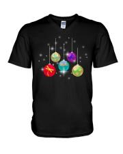Dragonfly Ball V-Neck T-Shirt thumbnail