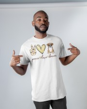 Boxer Peace Love Classic T-Shirt apparel-classic-tshirt-lifestyle-front-32