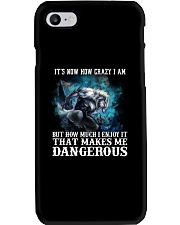 WOLF - It's now how crazy i am Phone Case thumbnail