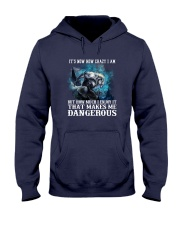 WOLF - It's now how crazy i am Hooded Sweatshirt thumbnail