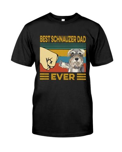 Best Schnauzer Dad Vintage