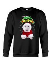 Bull Terrier Merry Xmas Crewneck Sweatshirt thumbnail