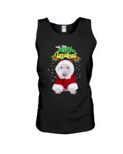 Bull Terrier Merry Xmas Unisex Tank thumbnail