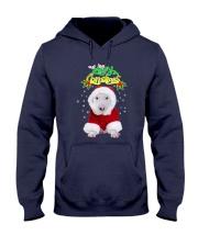 Bull Terrier Merry Xmas Hooded Sweatshirt thumbnail