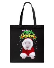 Bull Terrier Merry Xmas Tote Bag thumbnail