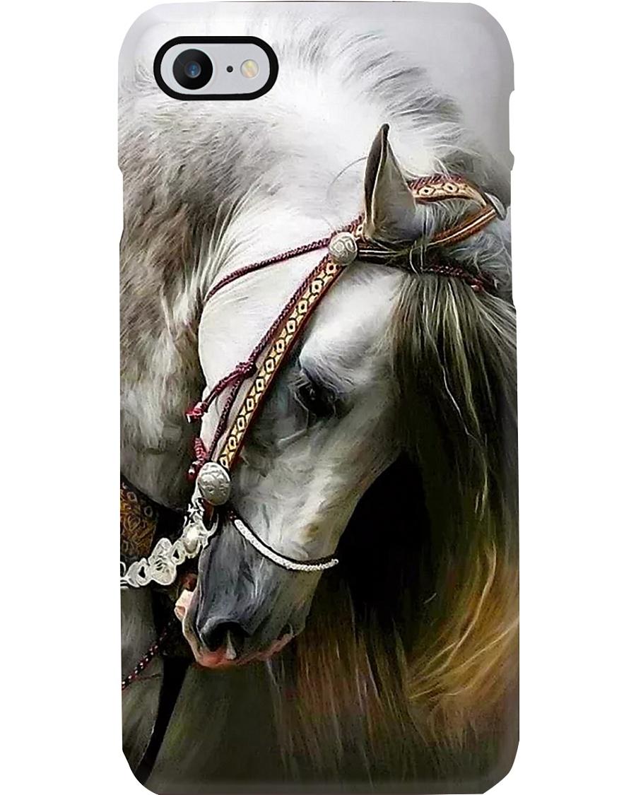 Horse White Beauty Phone Case
