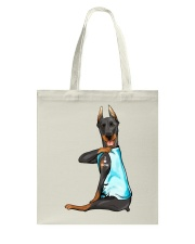 Doberman Pinschers I Love Mom Tote Bag thumbnail