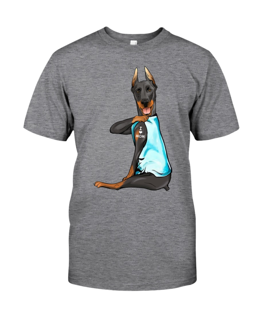 Doberman Pinschers I Love Mom Classic T-Shirt
