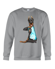 Doberman Pinschers I Love Mom Crewneck Sweatshirt thumbnail