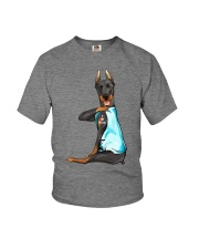 Doberman Pinschers I Love Mom Youth T-Shirt thumbnail