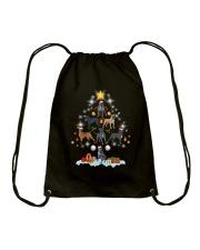 Cane Corsos Tree Xmas Drawstring Bag thumbnail