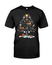 Cane Corsos Tree Xmas Classic T-Shirt front