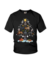Cane Corsos Tree Xmas Youth T-Shirt thumbnail
