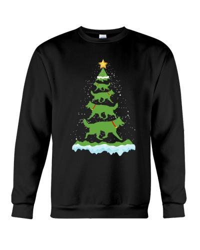 German Shepherd Tree Christmas