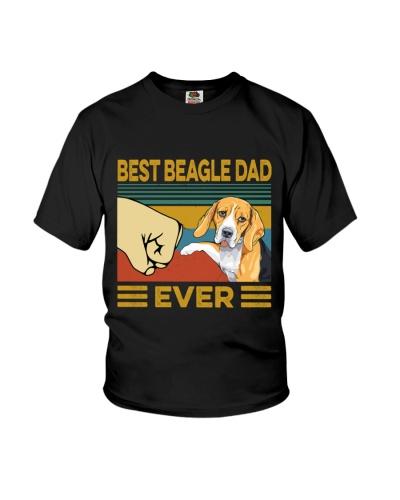 Best Beagle Dad Vintage