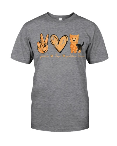 Yorkshire Terrier Peace Love