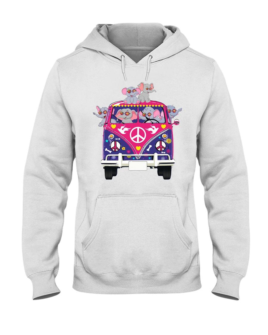 Elephant Peace Hooded Sweatshirt