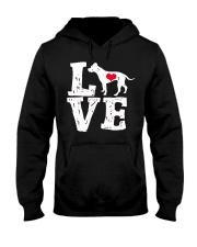 Pit Bull - Love Hooded Sweatshirt front