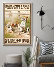 CHICKEN ONCE UPON A TIME 16x24 Poster lifestyle-poster-1