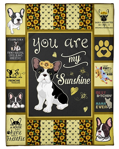 French Bulldog You Are My Sunshine Graphic Design