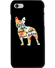 Girls Just Want To Have French Bulldog Phone Case thumbnail