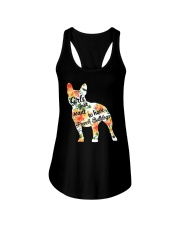 Girls Just Want To Have French Bulldog Ladies Flowy Tank thumbnail